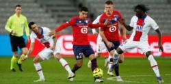 Con Di María en la conducción por las ausencias de Neymar y Mbappé (entró en el final), los parisinos sumaron un punto con sabor a poco ante el Lille.
