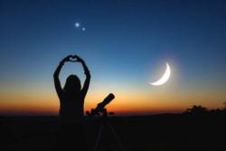 Por la conjunción de Júpiter y Saturno, se puede volver a ver la Estrella de Belén en el cielo.