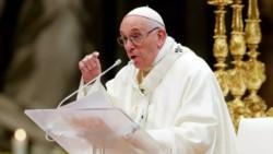 Antes del comienzo del debate del proyecto de legalización del aborto en el Senado, el papa Francisco aseguró hoy que