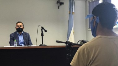 Franco Ovando estará detenido 30 días con tratamiento psicológico.