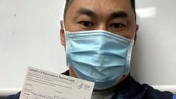 Matthew W., enfermero de San Diego, California, que se contagió COVID-19 siete días después de recibir la primera dosis de la vacuna de Pfizer (Facebook)