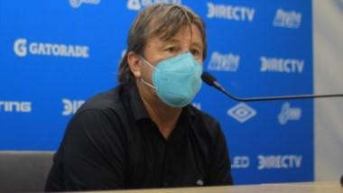 En la conferencia de prensa, Zielinski confirmó que deja Atlético al finalizar la Copa Maradona.