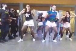 Polémica por el video de presas y guardiacárceles haciendo una coreografía de reggaeton.