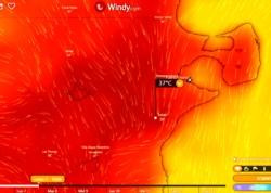 Pronósticos para este domingo y lunes en la zona del Valle. (weather.com)