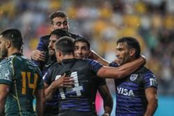 Sin el capitán Matera, Petti y Socino, por el conflicto de la semana, ni Cubelli, por lesión, Argentina tuvo un gran encuentro ante Australia.