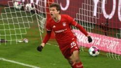 Müller -2- y Musiala marcaron para los dirigidos por Flick. Nkunku, Kluivert y Forsberg, los goles de la visita.
