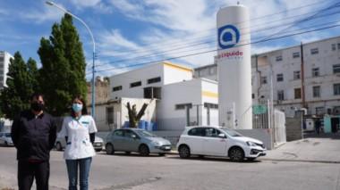La nueva instalación permitirá mejorar las prestaciones del Hospital Regional de Comodoro Rivadavia.