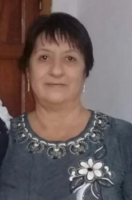 La víctima fue identificada por la policía como Lidia del Valle Cabrera (65).