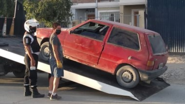 Operativo. El auto en que se movilizaba quedó en la Comisaría Tercera.