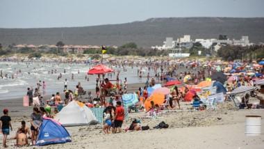 La playa y el aire libre ,  los lugares elegidos por  vecinos y visitantes.
