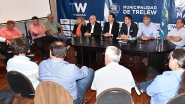 Empresarios de distintos rubros respondieron a la convocatoria de Maderna.