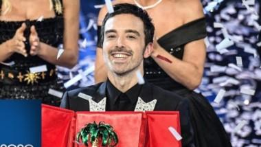 """Diodato, el cantautor italiano, quien compuso junto a Edwyn Roberts la melodía y letra de la canción """"Fai Rumore"""","""