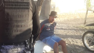 Jonatan Maldonado detenido por un robo. Poseía pedido de captura.