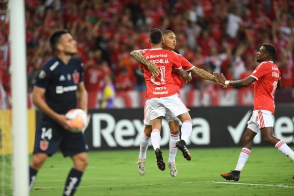 Paolo Guerrero anotó el segundo gol sobre la hora.