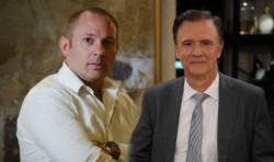 El falso abogado Marcelo D´Alessio y su amigo, el especialista en temas judiciales con licencia indefinida en