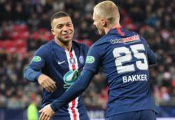 Mbappé convirtió en el game, set y clasificación...