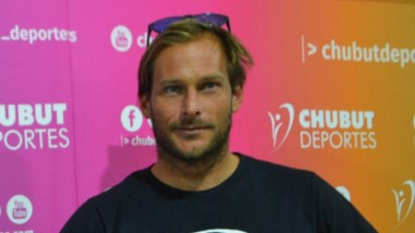 Marcelo Rodriguez  visitó las oficinas de Chubut Deportes para dar a conocer sus nuevos proyectos.