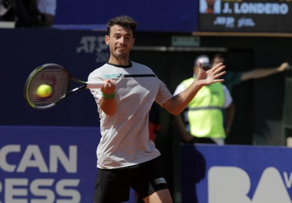 Juan Ignacio Londero se cobró revancha de los cuartos del Córdoba Open y derrotó a su verdugo de la semana pasada.