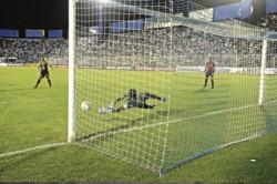 Cristian Lucchetti atajó dos penales y convirtió el suyo en la serie de penales.