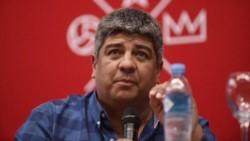 Pablo Moyano desligó a la dirigencia de la histórica derrota en el clásico ante Racing.