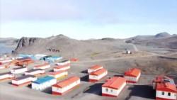Postal. Una base ubicada en la Isla Rey Jorge, con escasez de hielo.
