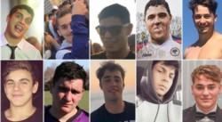 Aunque solamente ocho quedaron detenidos, los diez siguen involucrados en esta causa.