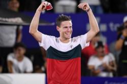 Diego Schwartzman fue de menor a mayor para finalmente vencer a Pablo Cuevas.