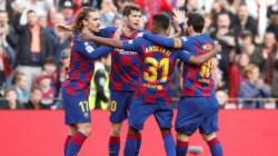 Messi, que dio una asistencia para el primer gol, completó su sexto partido consecutivo sin anotar.