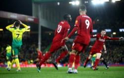 Liverpool clasificó a la Champions y está a 5 victorias de 12 partidos que restan, de coronarse campeón de la Premier League.