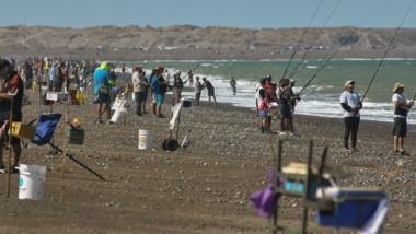 las 6 Horas de  pesca Pieza Mayor se disputarán en Playa Unión en el sector del colectivo.