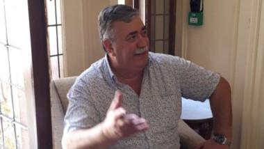 Héctor González estuvo ayer en la Casa Rosada en varias reuniones.