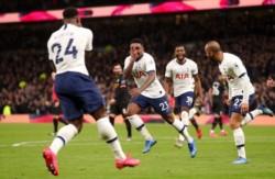 Tottenham tuvo una tremenda eficacia para superar por 2-0 al Manchester City con los goles de Bergwijn y Son.
