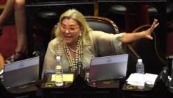 """Carrió aseguró que la intervención en Jujuy se trata de un """"golpe y atropello""""."""