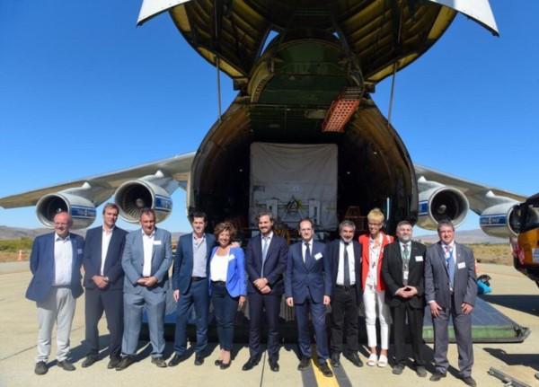El satélite argentino SAOCOM 1B comienza su viaje al espacio.