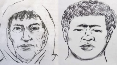 Los identikits que se confeccionaron por los aportes de la mujer que sobrevivió al  ataque.