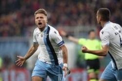 La Lazio derrotó al Genoa y no le pierde pisada a la Juventus.