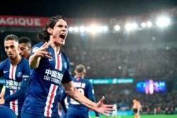 Par de asistencias de Di María y el uruguayo Cavani llegó a su gol 200.