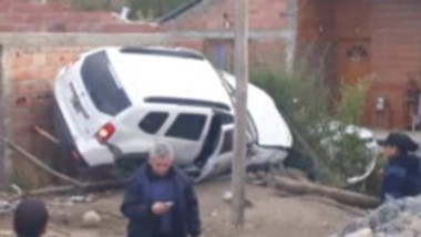 El accidente se produjo a las 8.30 en el barrio Bella Vista de Esquel.