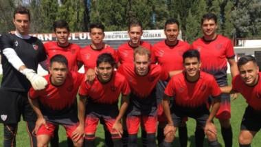 El plantel campeón de la Liga Del Valle del Chubut, enfrentó a Independiente en la Villa Deportiva de Gaiman.