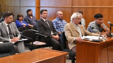 Audiencia. A fines de 2018 el Caso Pilquimán se discutió en la sede del Superior en Rawson y más de un año después, llegó el fallo de los ministros.