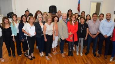 Con la presencia de la funcionaria nacional Tolosa Paz, se inauguró la red de concejalas patagónicas.