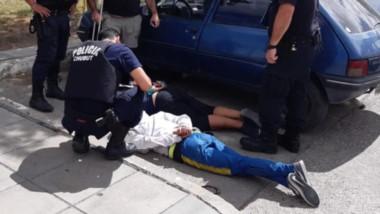 La Policía atrapó a los delincuentes en la Terminal de colectivos de Trelew con los elementos robados.
