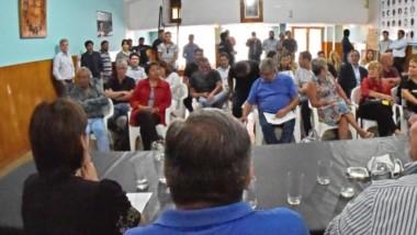 Durante el encuentro partidario también se analizó en profundidad la situación de debilidad económica por la que atraviesa la provincia.