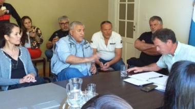 Brian Oggero, en representación de Chubut Deportes, se reunió con distintas instituciones deportivas de Comodoro Rivadavia y Rada Tilly.