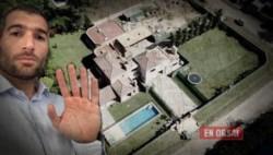Sbarra y su mansión en obras. Empezó en 2015 con un patrimonio de un millón de pesos y terminó con $30 millones. (imagen gentileza En Orsay).