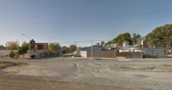 El sujeto fue detenido fuera de una casa del barrio Covimar I