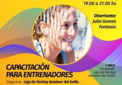 El próximo viernes 7 de febrero, la ex leona, Julieta Gómez Fantasía, dictará una clínica para entrenadores de la provincia en Puerto Madryn.