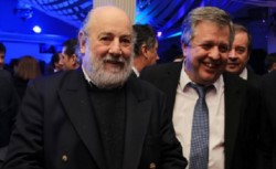 Bonadio y el fiscal Carlos Stornelli en un ágape macrista.