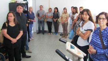 Acto inaugural del  Taller que fabricará Prótesis y Ortesis y que funcionará en Hospital de Gaiman.