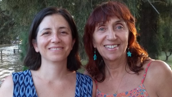 Nuria Cámpora y Silvia Kochen. Foto: gentileza investigadoras.